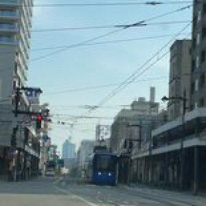 今朝は五福交差点から街宣スタート